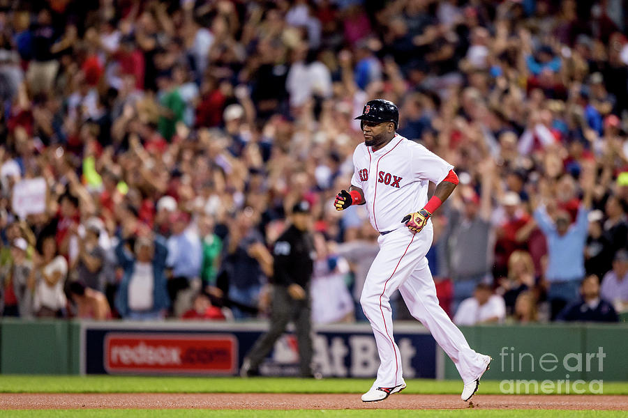 David Ortiz Photograph by Billie Weiss/boston Red Sox