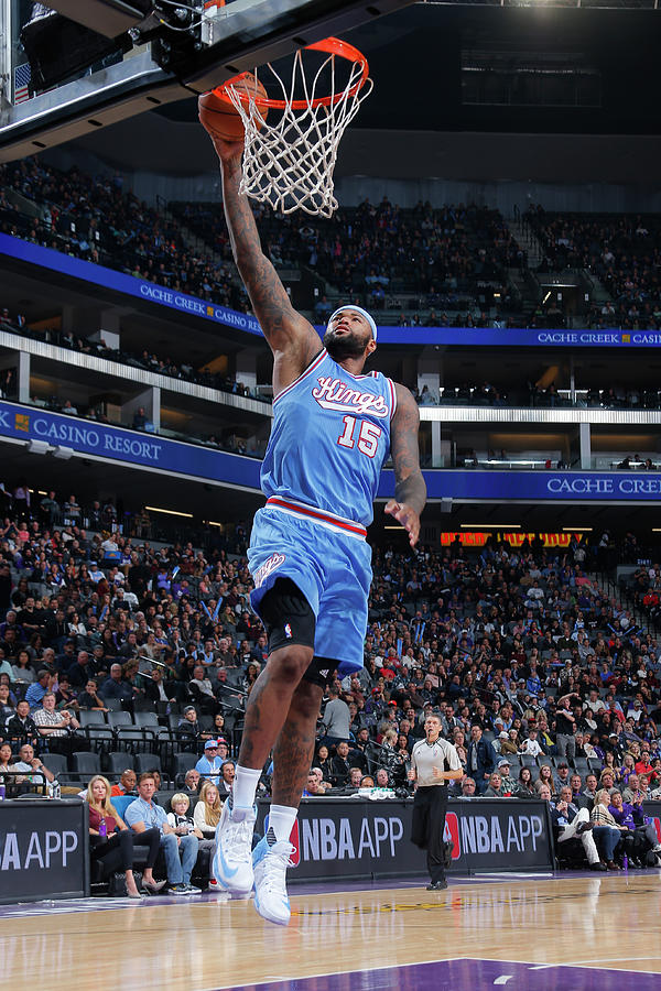 Demarcus Cousins Photograph by Rocky Widner