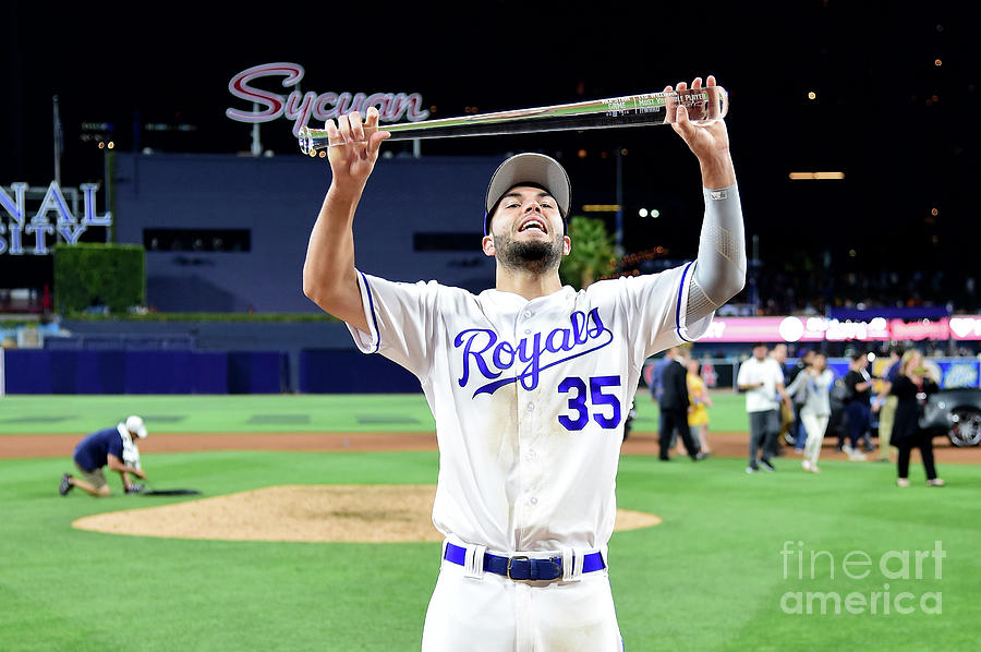 Eric Hosmer Photograph by Harry How