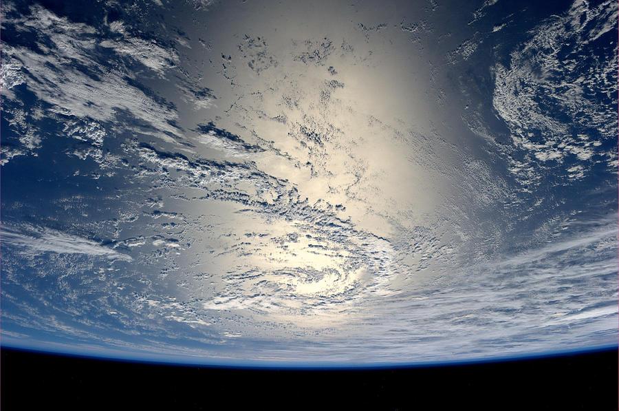 German Astronaut Alexander Gerst Aboard The International Space Station Photograph by Esa
