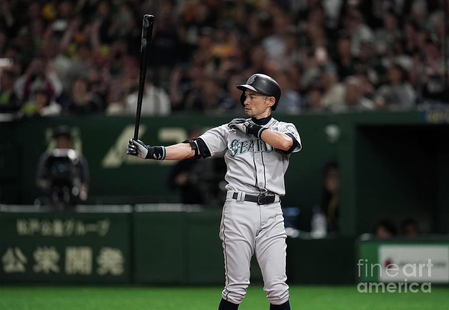 Ichiro Suzuki Photograph by Masterpress