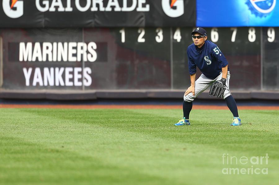 Ichiro Suzuki Photograph by Mike Stobe