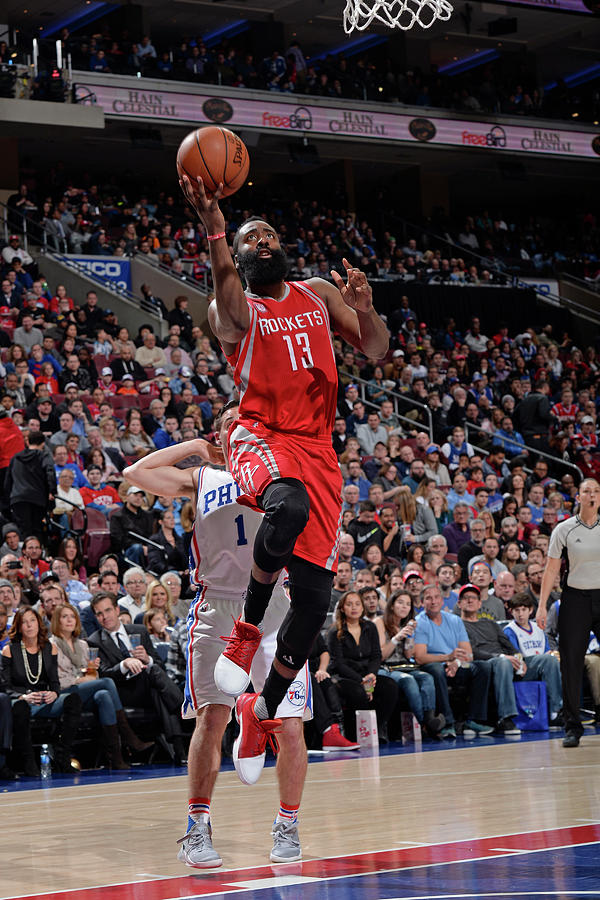 James Harden Photograph by David Dow