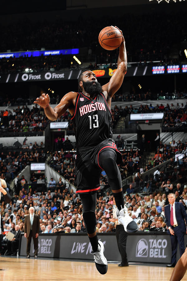 James Harden Photograph by Jesse D. Garrabrant
