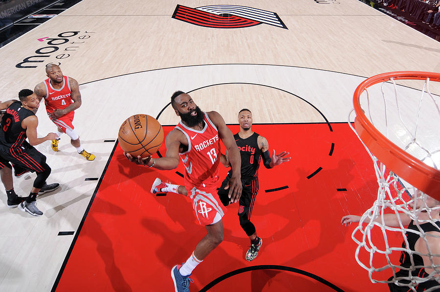 James Harden Photograph by Sam Forencich