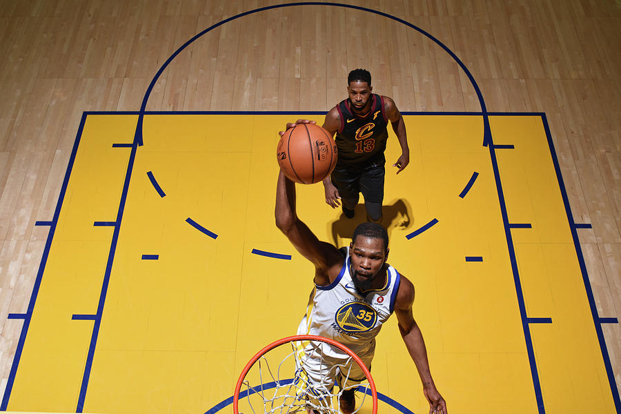 Kevin Durant Photograph by Garrett Ellwood