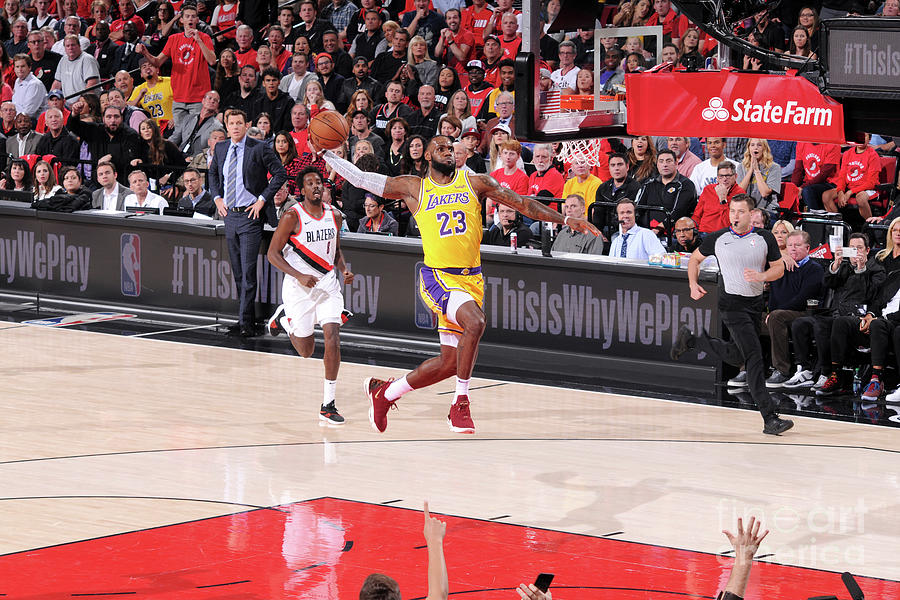 Lebron James Photograph by Sam Forencich
