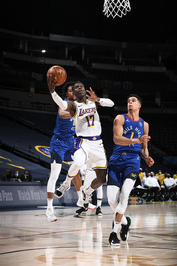 Los Angeles Lakers v Denver Nuggets Photograph by Garrett Ellwood