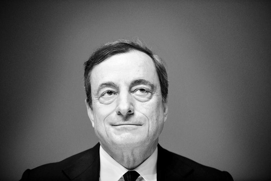 Mario Draghi Holds First Press Conference In New ECB Headquarters Photograph by Thomas Lohnes