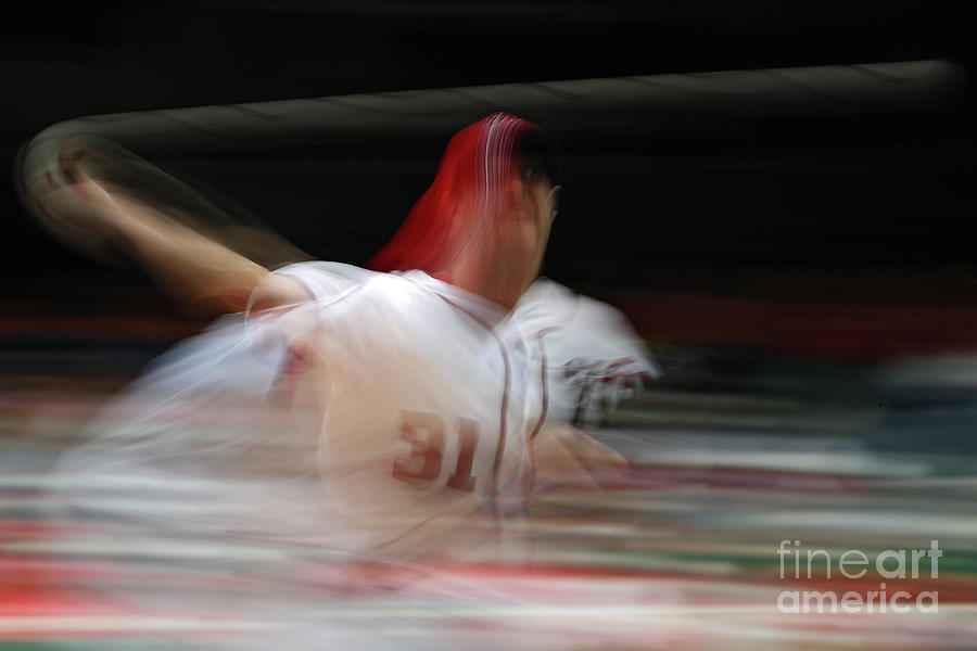 Max Scherzer Photograph by Patrick Smith