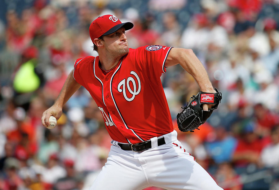 Max Scherzer Photograph by Rob Carr