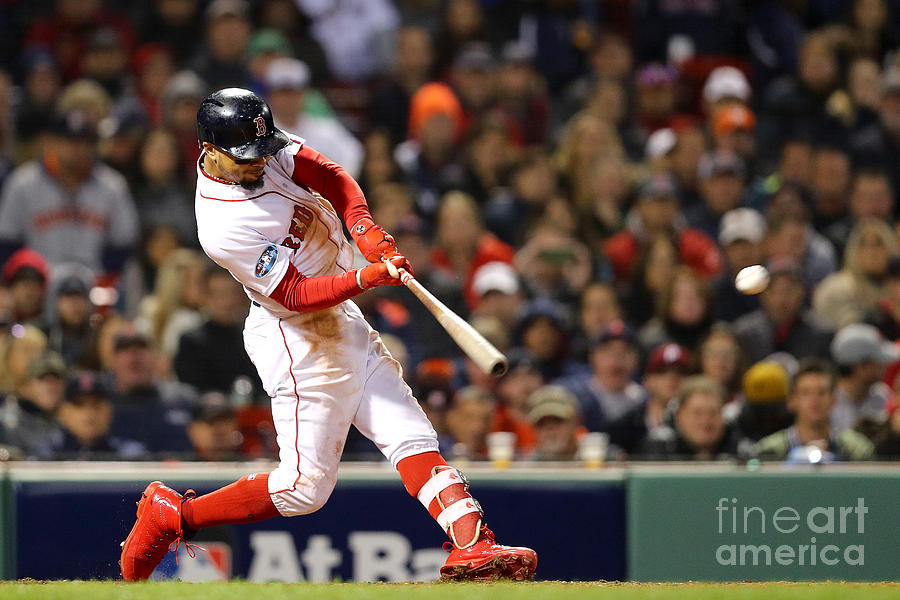 Mookie Betts Photograph by Maddie Meyer