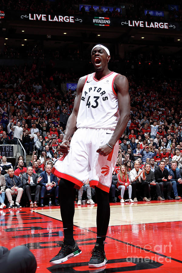 Pascal Siakam Photograph by Mark Blinch