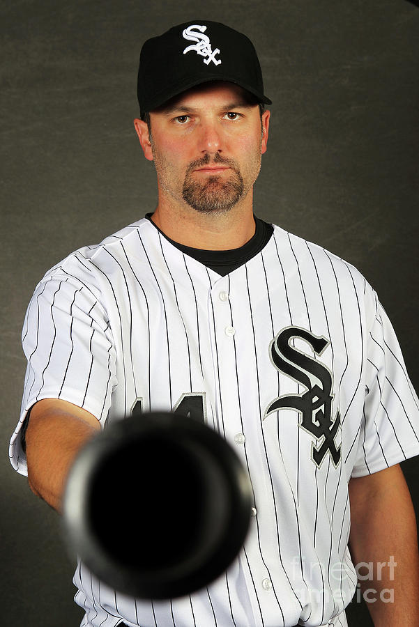 Paul Konerko Photograph by Jamie Squire