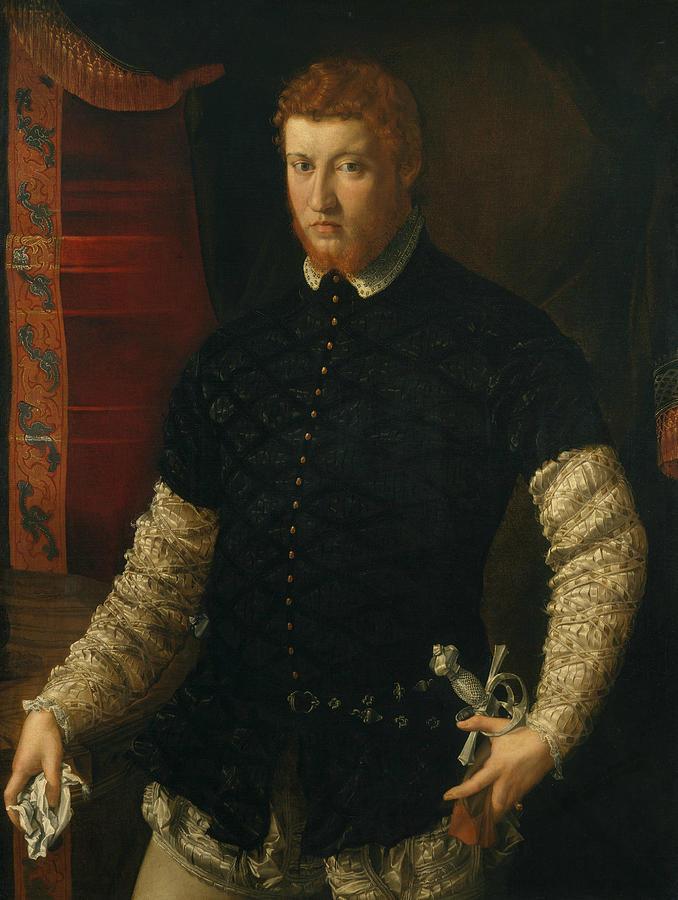 Portrait of a Man by Francesco Salviati