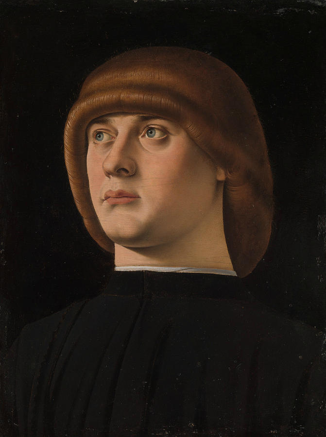 Portrait of a Young Man by Jacometto