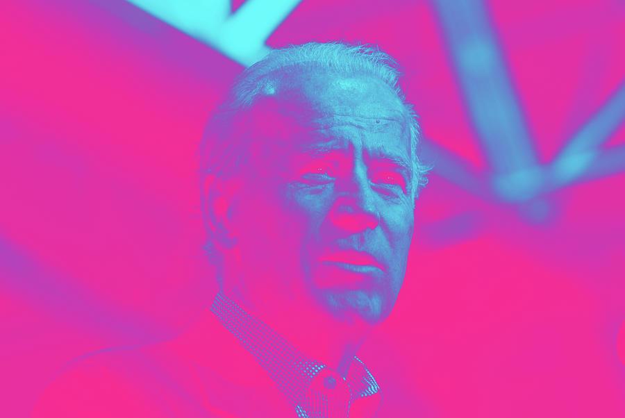 Portrait Of President Joe Biden By Marc Nozell Digital Art