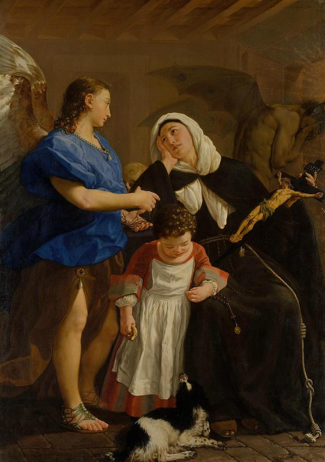 Saint Margaret of Cortona by Gaspare Traversi