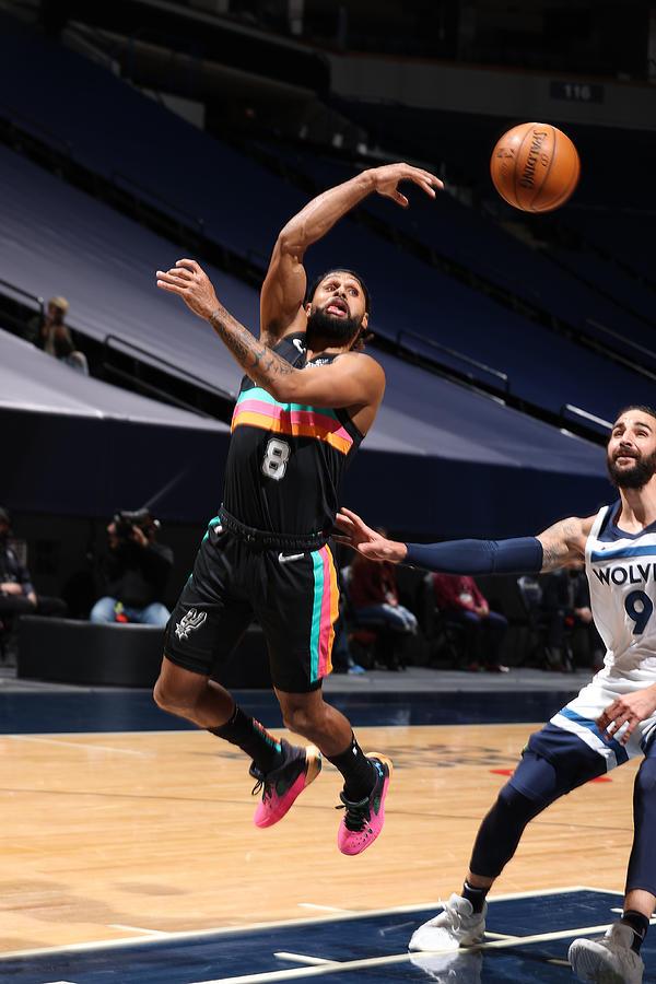 San Antonio Spurs v Minnesota Timberwolves Photograph by David Sherman