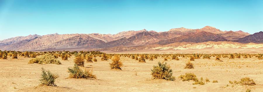 sunrise in death valley california desert by ALEX GRICHENKO