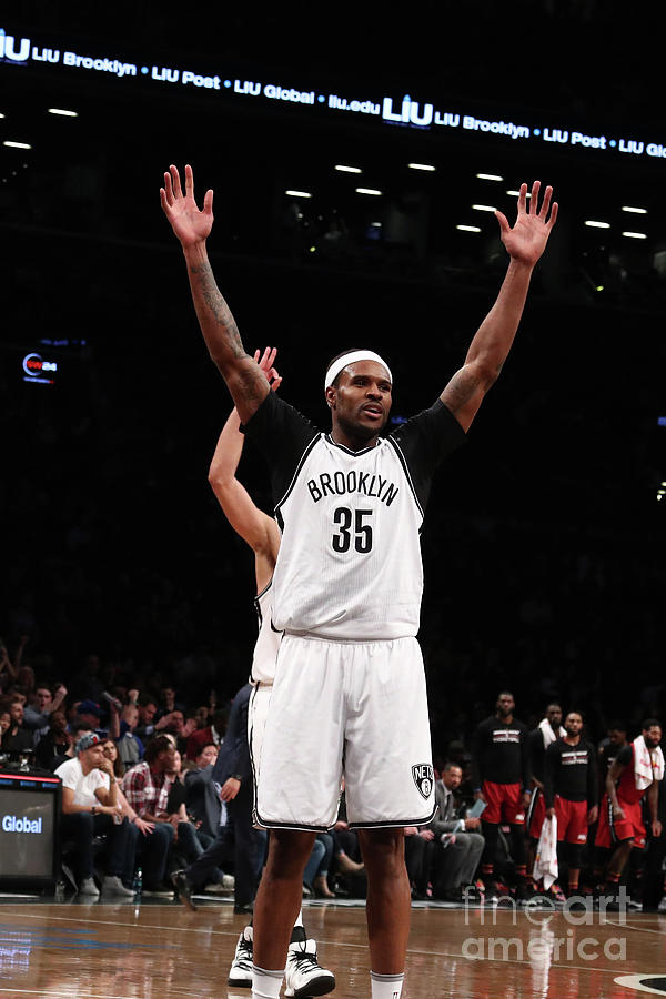 Trevor Booker Photograph by Nathaniel S. Butler