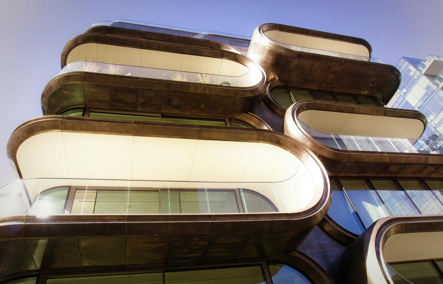 Zaha Hadid Photograph - ZAHA HADID Building by Michael Hope