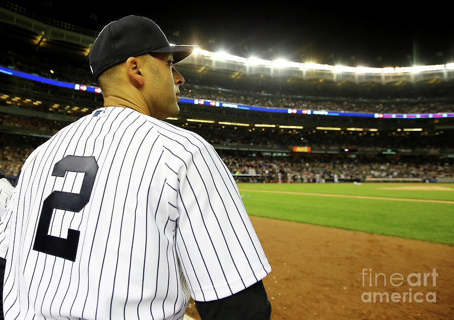 Derek Jeter Photograph by Al Bello