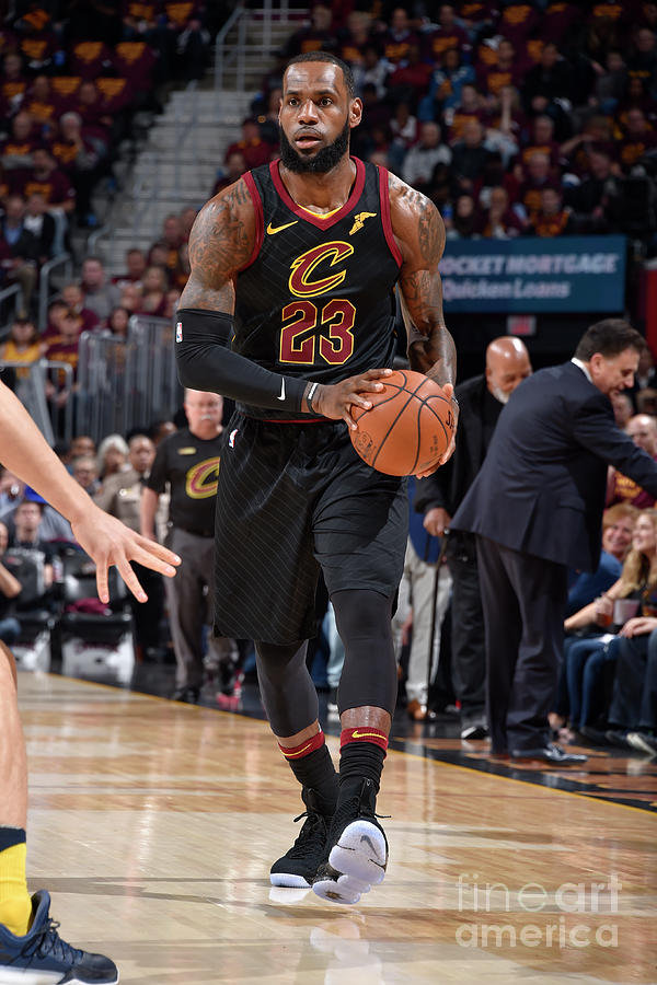 Lebron James Photograph by David Liam Kyle