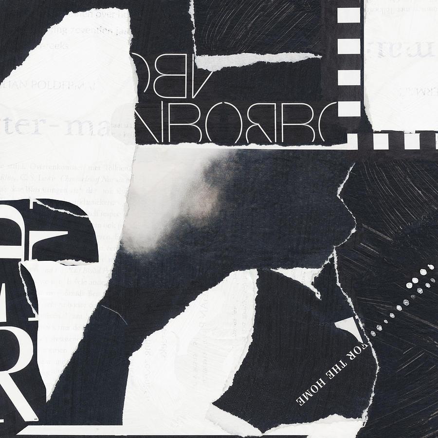 0090- Quartz Black Mixed Media