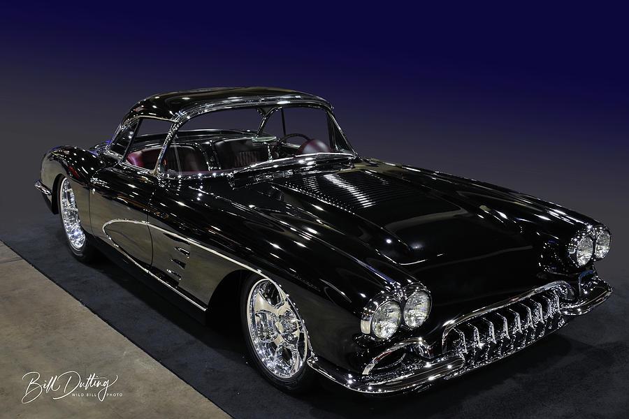 58 Corvette  by Bill Dutting