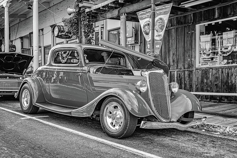 1934 Ford Model 40b Deluxe 3 Window Coupe Photograph
