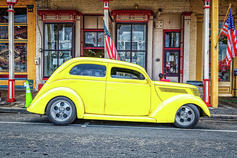 1937 Ford Standard Slantback 2 Door Sedan Photograph