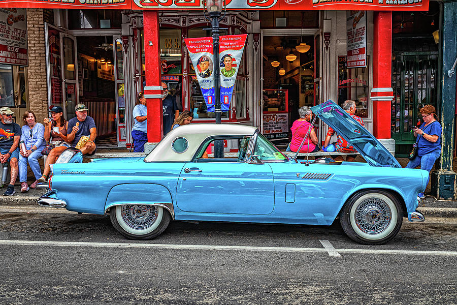 1956 Ford Thunderbird Hardtop Coupe Photograph