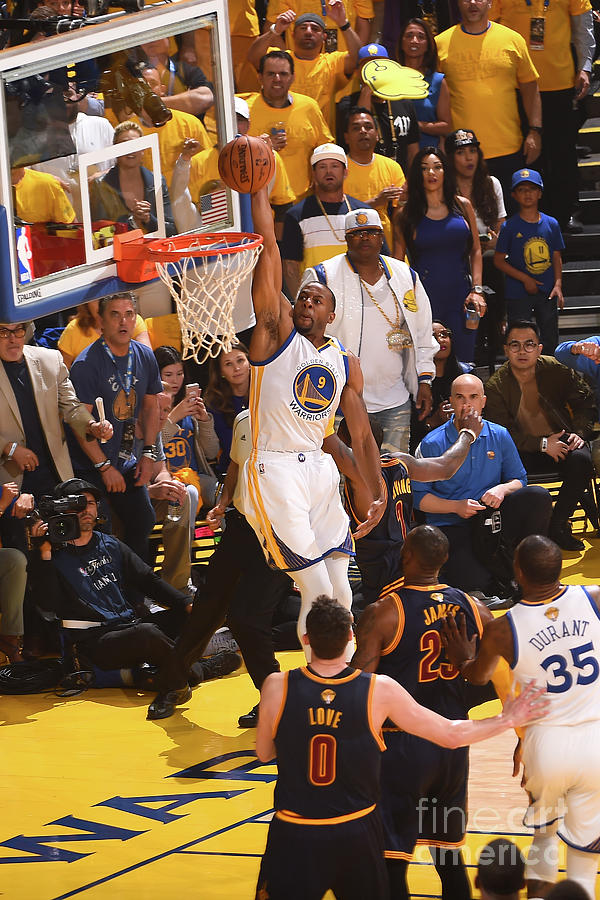 Andre Iguodala Photograph by Noah Graham