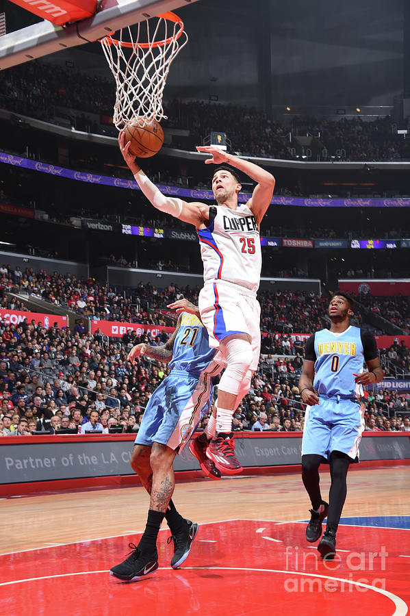 Austin Rivers Photograph by Andrew D. Bernstein