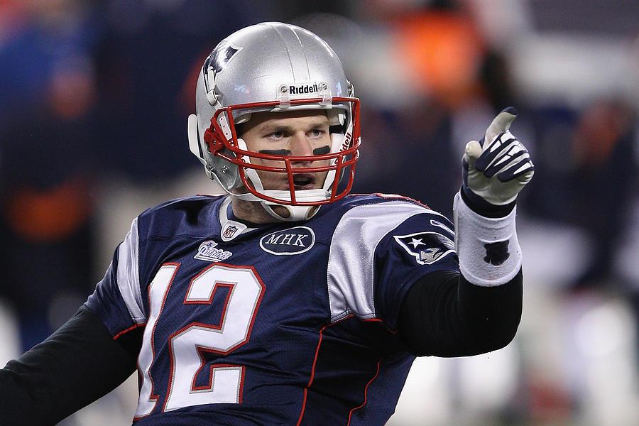 Divisional Playoffs - Denver Broncos v New England Patriots Photograph by Elsa