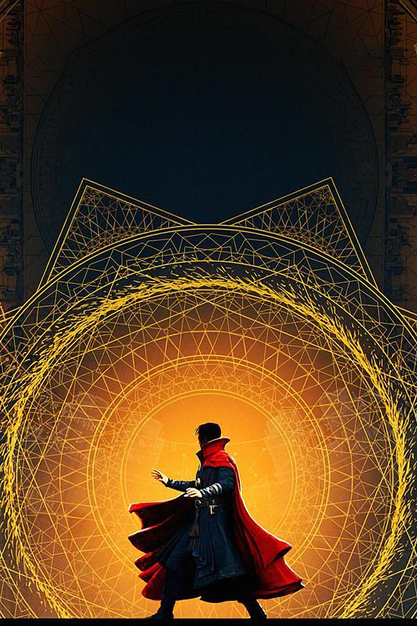 Doctor Strange 2016 Digital Art By Geek N Rock