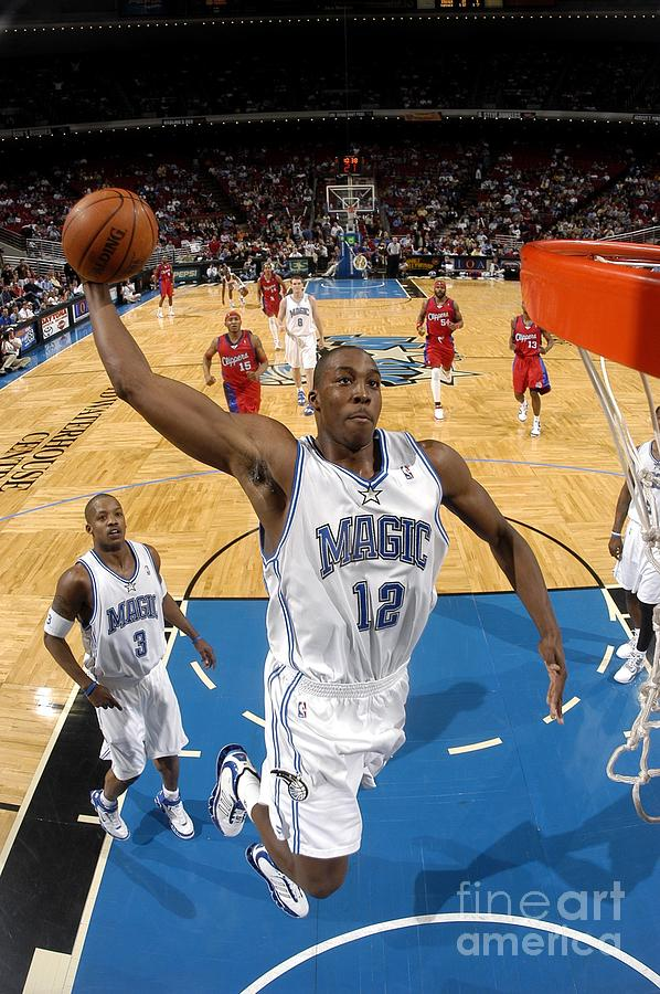 Dwight Howard Photograph by Fernando Medina
