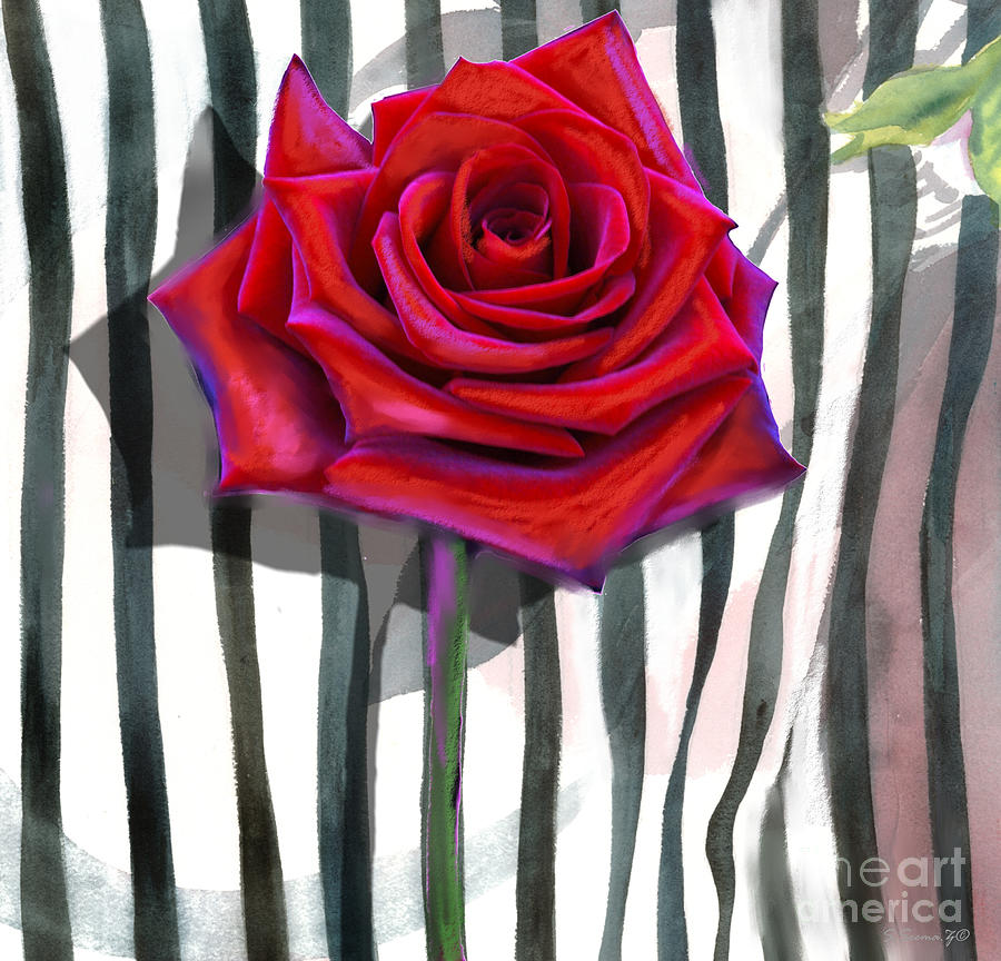 Floral Mixed Media