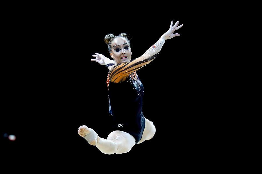 Gymnastics - European Championships Glasgow 2018: Day Four Photograph by Julian Finney