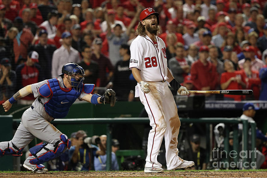 Jayson Werth Photograph by Patrick Smith