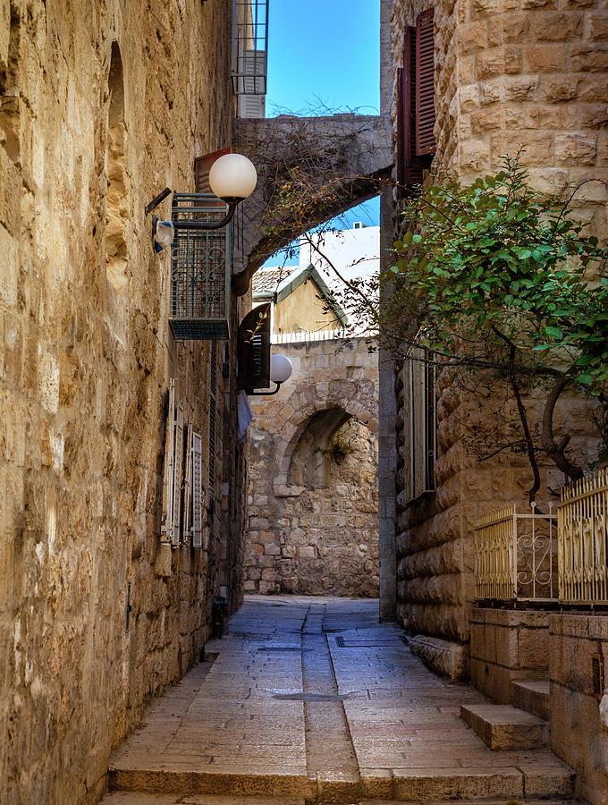 Jerusalem Street Photograph