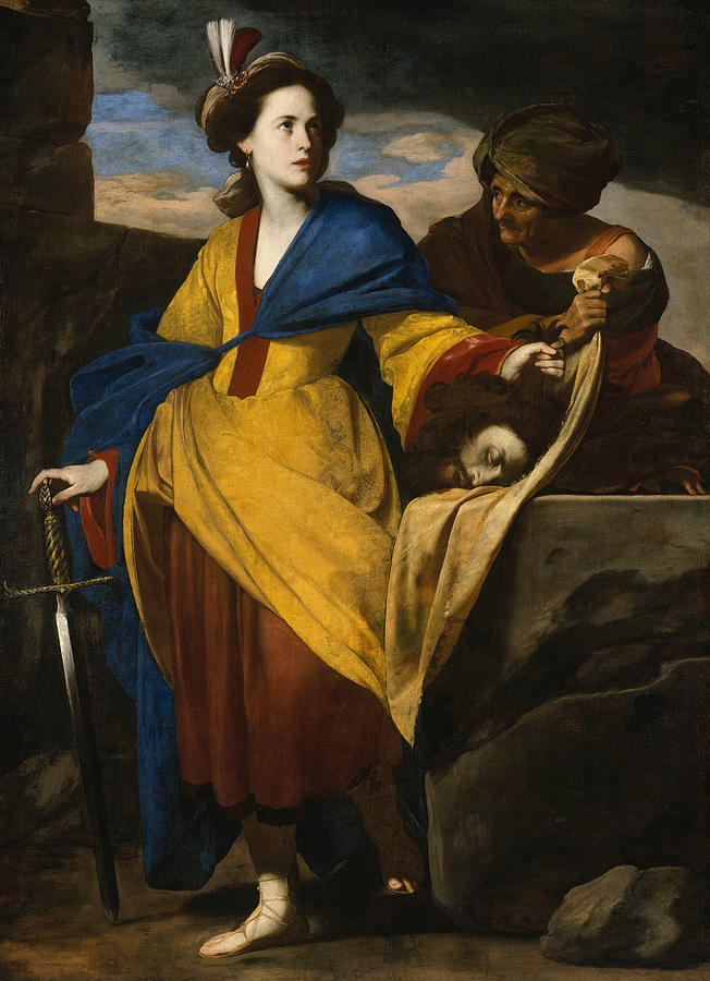 Judith with the Head of Holofernes by Massimo Stanzione