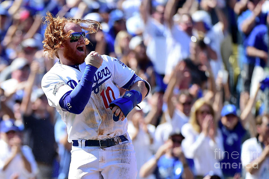 Justin Turner Photograph by Harry How