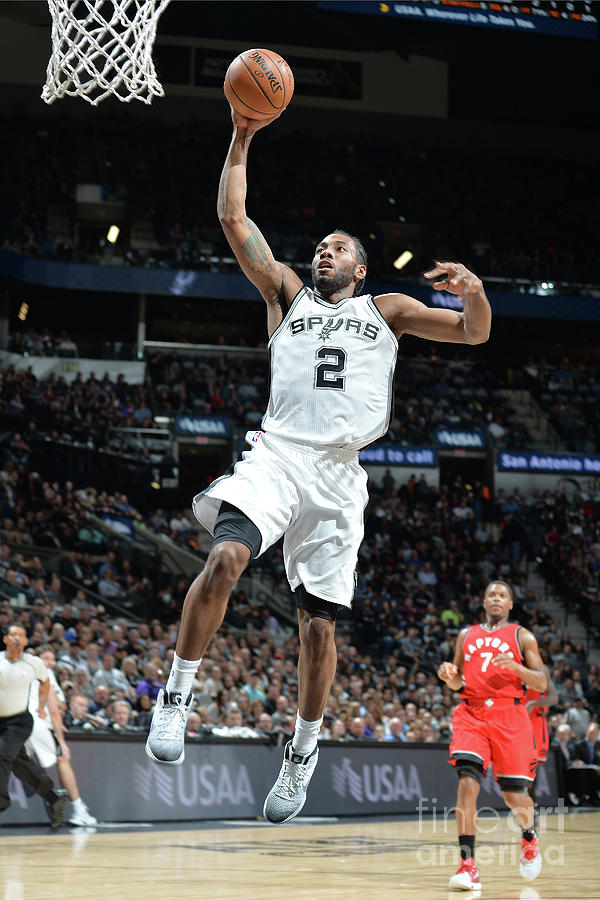 Kawhi Leonard Photograph by Mark Sobhani