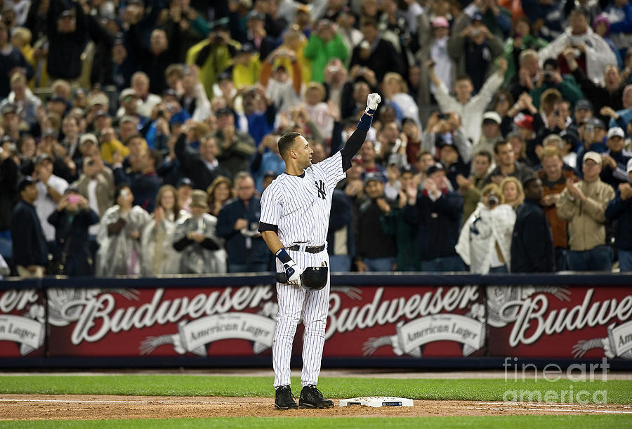 Lou Gehrig and Derek Jeter Photograph by Icon Sports Wire