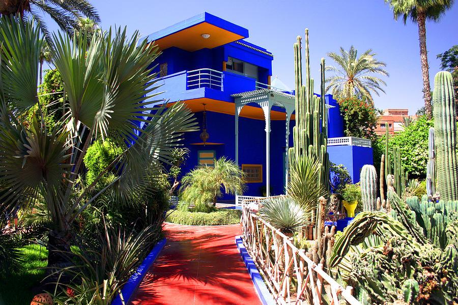 Majorelle Garden Photograph - Majorelle Garden Marrakesh Morocco by PIXELS  XPOSED Ralph A Ledergerber Photography