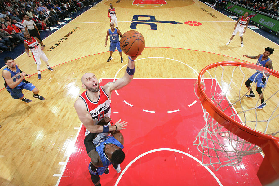 Marcin Gortat Photograph by Ned Dishman