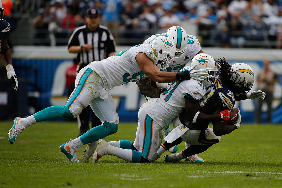 Miami Dolphins v San Diego Chargers Photograph by Sean M. Haffey