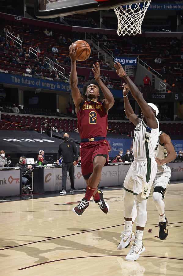 Milwaukee Bucks v Cleveland Cavaliers Photograph by David Liam Kyle